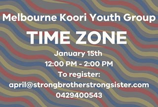 Time Zone - Melbourne Koorie Youth Group